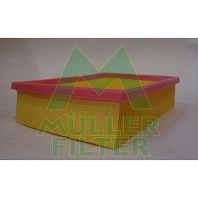 MULLER FILTER  PA411 Luftfilter Länge: 243mm, Breite: 178mm, Höhe: 57mm