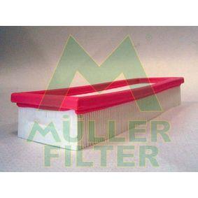 Luftfilter Länge: 300mm, Breite: 101mm, Höhe: 49mm, Länge: 300mm mit OEM-Nummer 7701 042 841