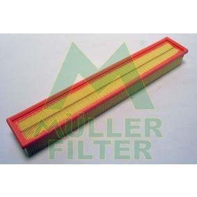 Luftfilter Länge: 523mm, Breite: 86mm, Höhe: 58mm mit OEM-Nummer 1110940304