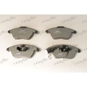 Bremsbelagsatz, Scheibenbremse Breite: 152,5mm, Höhe: 66mm, Dicke/Stärke: 20,5mm mit OEM-Nummer 3C0 698 151A