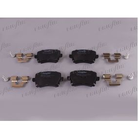 Bremsbelagsatz, Scheibenbremse Breite: 105,3mm, Höhe: 55,9mm, Dicke/Stärke: 17mm mit OEM-Nummer 1K0.698.451G