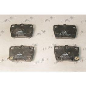 Brake Pad Set, disc brake PD15.514 RAV 4 II (CLA2_, XA2_, ZCA2_, ACA2_) 2.0 4WD (ACA21, ACA20) MY 2003
