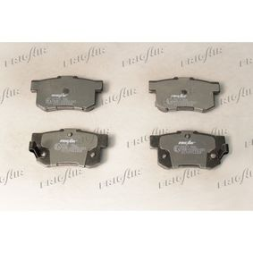 Brake Pad Set, disc brake Width: 89mm, Height: 47,5mm, Thickness: 14mm with OEM Number 43022-S9A-E52