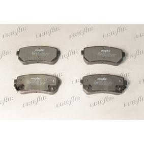 Brake Pad Set, disc brake PD28.502 RIO 2 (JB) 1.5 CRDi MY 2021