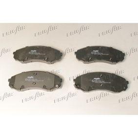 Bremsbelagsatz, Scheibenbremse Breite: 164,5mm, Höhe: 63,5mm, Dicke/Stärke: 17,5mm mit OEM-Nummer 58101-4HA00
