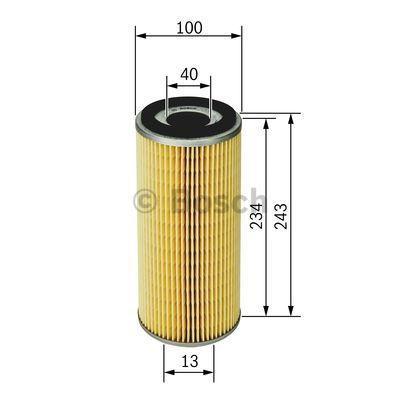 Ölfilter BOSCH P9600 3165141016130