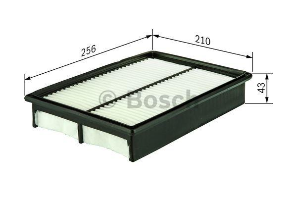 Luftfilter BOSCH S3037 3165143221297