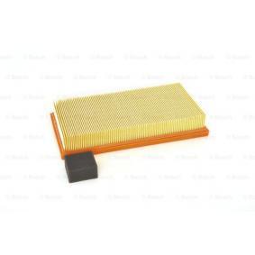 Luftfilter Länge: 287mm, Breite: 156mm, Höhe: 46,3mm mit OEM-Nummer 1050705