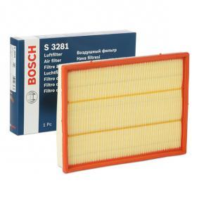 Air Filter Length: 294mm, Width: 234mm, Height: 42mm, Length: 294mm with OEM Number 58 34 282