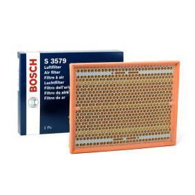 Luftfilter Länge: 326mm, Breite: 252mm, Höhe: 50,3mm, Länge: 326mm mit OEM-Nummer 835 631