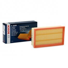 Air Filter Length: 239mm, Width: 140,5mm, Height: 58,3mm, Length: 239mm with OEM Number 16546 BN701
