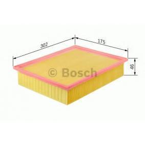Filtro aria Lunghezza: 302mm, Largh.: 174,5mm, Alt.: 46mm, Lunghezza: 302mm con OEM Numero 487 6199