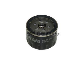 FRAM  PH5796 Filtro de aceite Ø: 76mm, Altura: 54mm