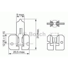 Glühlampe, Nebelscheinwerfer H2, X511, 55W, 12V 1 987 302 022 RENAULT 19, 4, 21