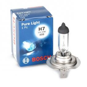 BOSCH Glühlampe, Fernscheinwerfer 1 987 302 071 für AUDI A4 (8E2, B6) 1.9 TDI ab Baujahr 11.2000, 130 PS