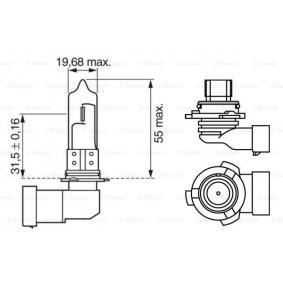 Bulb, spotlight HB4, 51W, 12V 1 987 302 153 VW GOLF, POLO, PASSAT