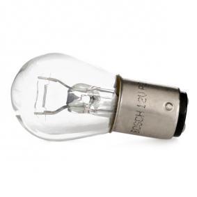 Bulb, brake / tail light P21/4W, 12V 21/4W, BAZ15d 1 987 302 215 FORD MONDEO II Saloon (BFP)