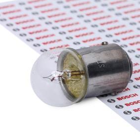 Крушка с нагреваема жичка, светлини на рег. номер R5W, BA15d, 12волт, 5ват 1 987 302 237