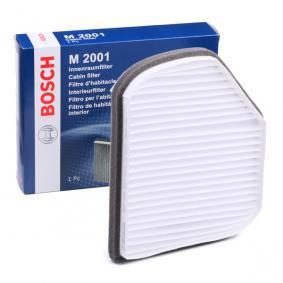 Filter, Innenraumluft Länge: 209,6mm, Breite: 202,5mm, Höhe: 54mm mit OEM-Nummer 71775 179