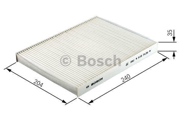 Filtro de aire acondicionado BOSCH M2004 4047024656895