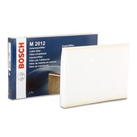 Filter, Innenraumluft Länge: 279,5mm, Breite: 205mm, Höhe: 25mm mit OEM-Nummer 1H0819644B