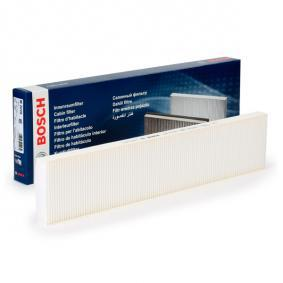 Filter, Innenraumluft Länge: 535mm, Breite: 109,5mm, Höhe: 25,5mm mit OEM-Nummer 1 491 752