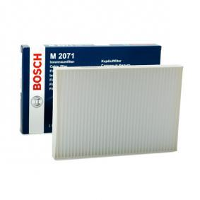 BOSCH Filter, Innenraumluft 1 987 432 071 für AUDI A4 Avant (8E5, B6) 3.0 quattro ab Baujahr 09.2001, 220 PS