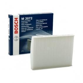 Filter, interior air 1 987 432 072 PUNTO (188) 1.2 16V 80 MY 2000