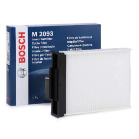 Filter, Innenraumluft Länge: 254,6mm, Breite: 185,5mm, Höhe: 42mm mit OEM-Nummer 7 701 055 109