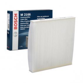 Filter, Innenraumluft Länge: 224mm, Breite: 234mm, Höhe: 30mm mit OEM-Nummer 80292-SDC-505-HE