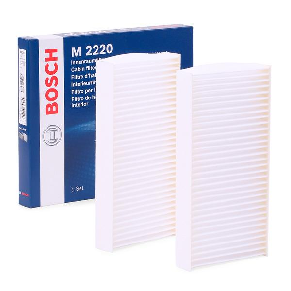 Filtro, aire habitáculo BOSCH 1987432220 conocimiento experto