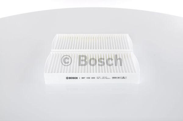 Filtro, aire habitáculo BOSCH M2220 4047024656055