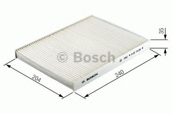 Filtro de aire acondicionado BOSCH R2304 4047024656901