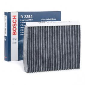 Filter, Innenraumluft Länge: 255mm, Breite: 200mm, Höhe: 30mm mit OEM-Nummer 6447 FF