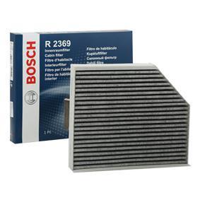 Filter, Innenraumluft Länge: 240,5mm, Breite: 279mm, Höhe: 36mm mit OEM-Nummer 8K0 819 439A