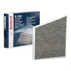Filter, Innenraumluft Länge: 312mm, Breite: 260mm, Höhe: 35mm mit OEM-Nummer A211 830 0018
