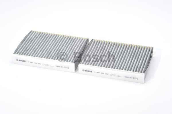 Innenraumfilter 1 987 432 386 BOSCH R2386 in Original Qualität