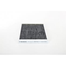 Filter, Innenraumluft Länge: 212mm, Breite: 243mm, Höhe: 35mm mit OEM-Nummer 1808527
