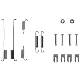 Accessory Kit, brake shoes 1 987 475 219 PUNTO (188) 1.2 16V 80 MY 2002