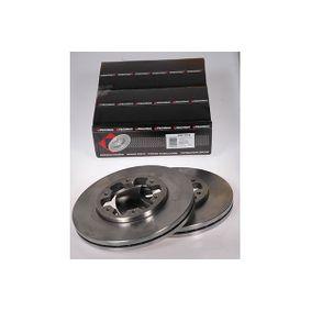 Bremsscheibe Bremsscheibendicke: 26mm, Lochanzahl: 6, Ø: 277mm mit OEM-Nummer 1 954 434