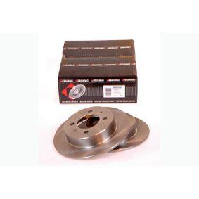 Bremsscheibe Bremsscheibendicke: 7mm, Lochanzahl: 4, Ø: 234mm mit OEM-Nummer 43206-58Y02