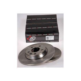 Bremsscheibe Bremsscheibendicke: 13,5mm, Lochanzahl: 5, Ø: 294mm mit OEM-Nummer 7D0.615.601A