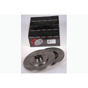 Bremsscheibe Bremsscheibendicke: 8,0mm, Lochanzahl: 4, Ø: 238mm mit OEM-Nummer 7701204302