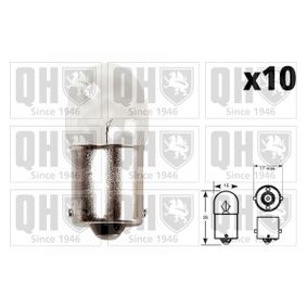 Glühlampe 12V 10W, R10W, BA15s QBL245