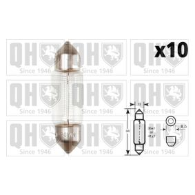 Glühlampe 12V 10W, C10W, S8,5d QBL264