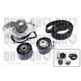 Water pump and timing belt kit with OEM Number 16 135 617 80