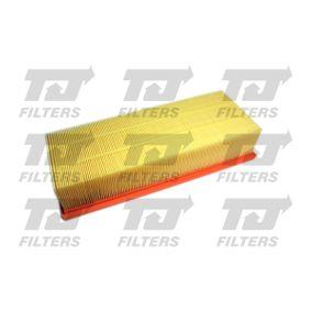 Luftfilter Länge: 346mm, Breite: 135mm, Höhe: 70mm, Länge: 346mm mit OEM-Nummer 1K0-129-620D