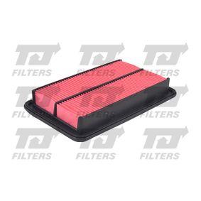 Luftfilter Länge: 258mm, Breite: 164mm, Höhe: 40mm, Länge: 258mm mit OEM-Nummer FS0513-Z40