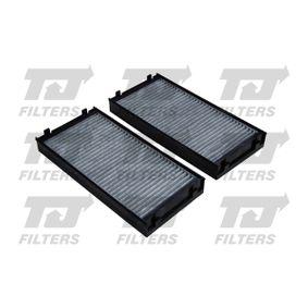 Filter, Innenraumluft Länge: 297,5mm, Breite: 142,5mm, Höhe: 40mm mit OEM-Nummer 64 31 6 945 585