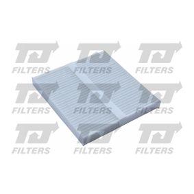Filter, Innenraumluft Länge: 215mm, Breite: 197mm, Höhe: 25mm mit OEM-Nummer GS1D-61-P11